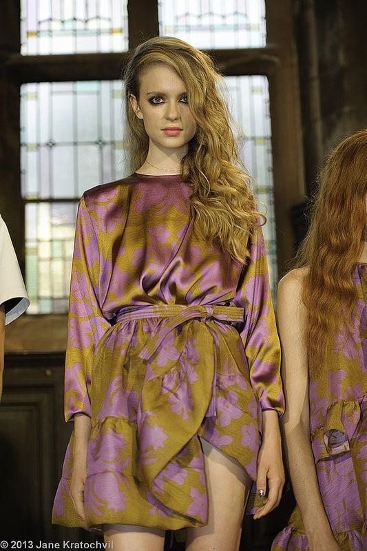 Cynthia Rowley Spring 2014 - Radiant Orchid